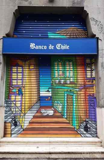 Mural Banco de Chile