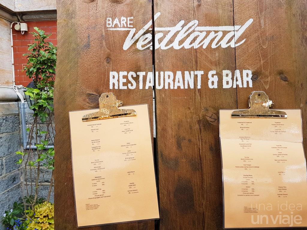 Vestland restaurant