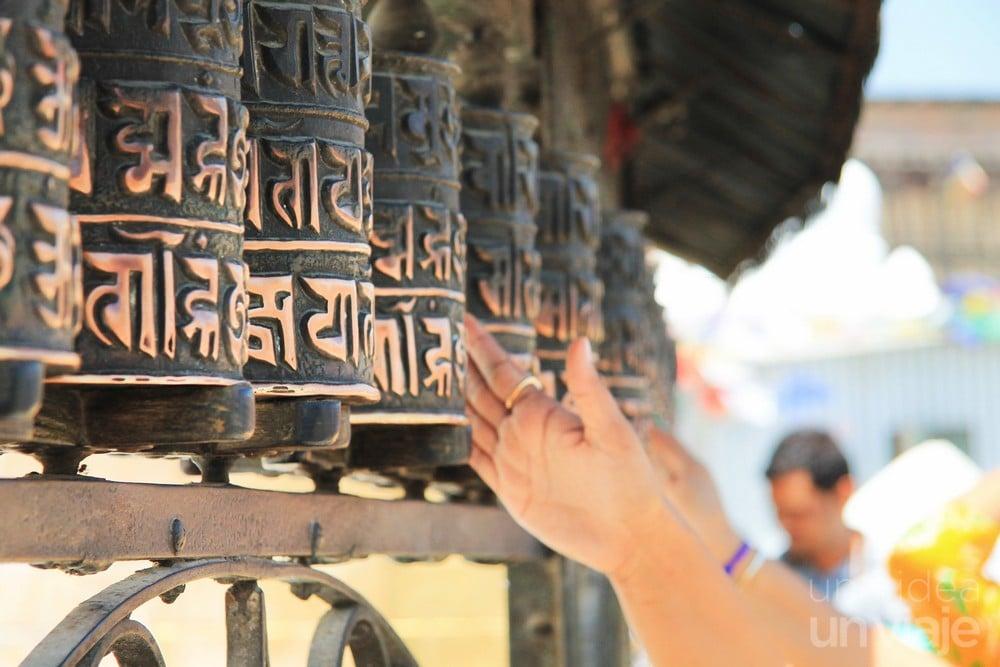 Sawayambhunath - Prayer Rolls