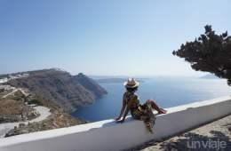 Ruta caminando Imerovigli - Oía, Santorini