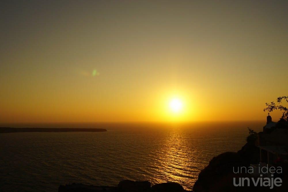 Puesta de sol Oía, Santorini