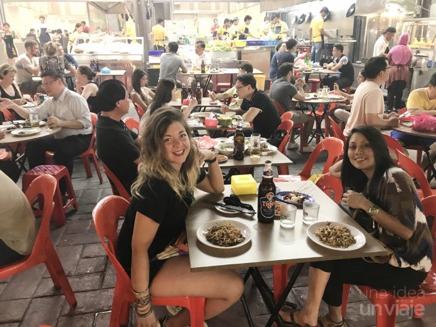 Zona de restaurantes Bukit Bintang