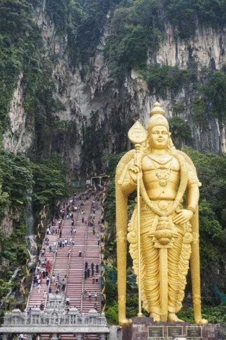 Subida Batu Caves Kuala Lumpur