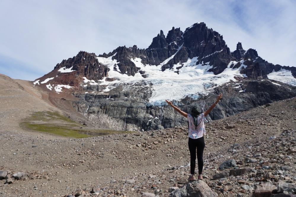 Glaciar en Cerro Castillo