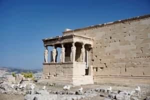 Acrópolis de Atenas - Erectión