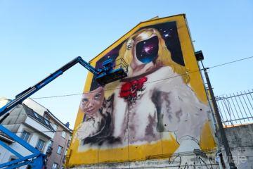 Mural de las Meninas de Canido, Ferrol
