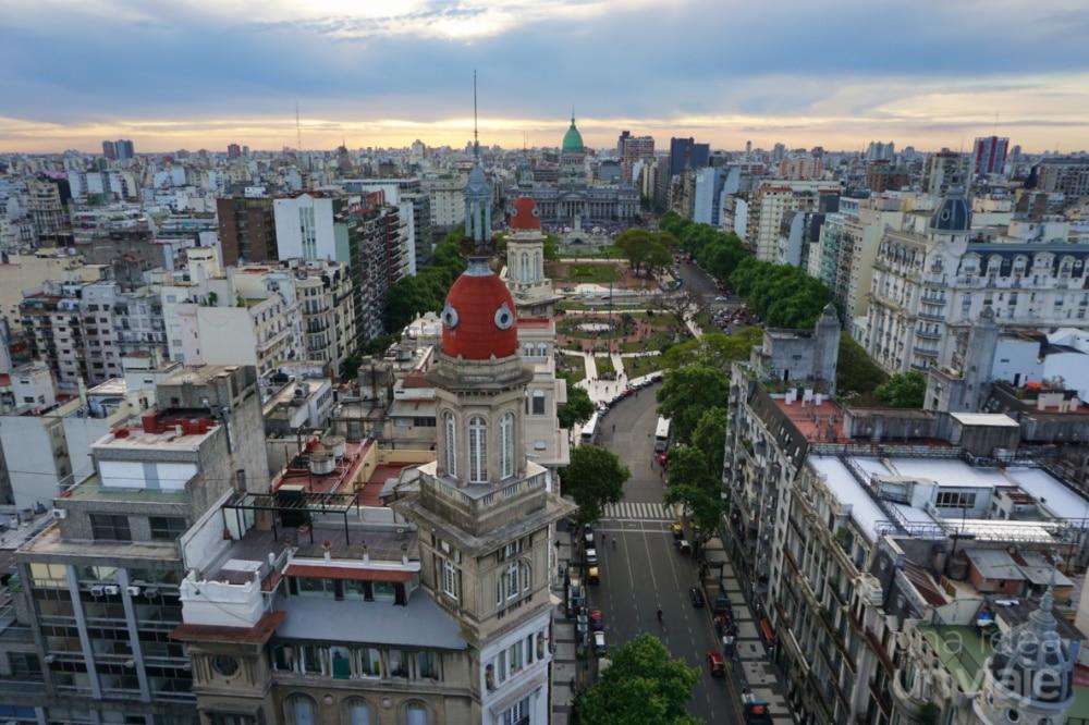 Buenos Aires, vistas desde el Palacio Barolo