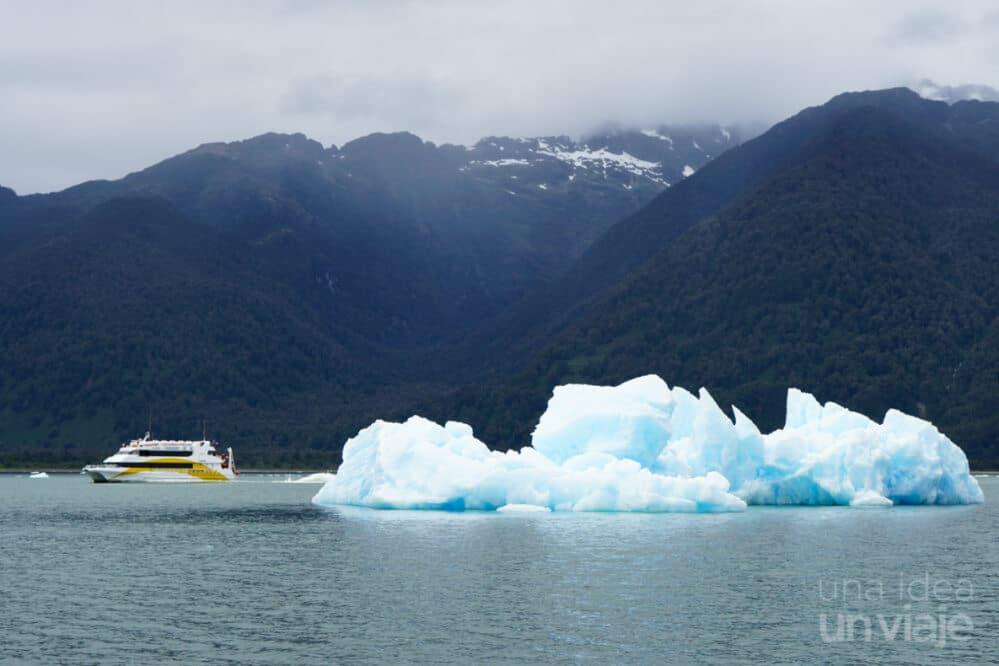 Navegación glaciar San Rafael, Carretera Austral