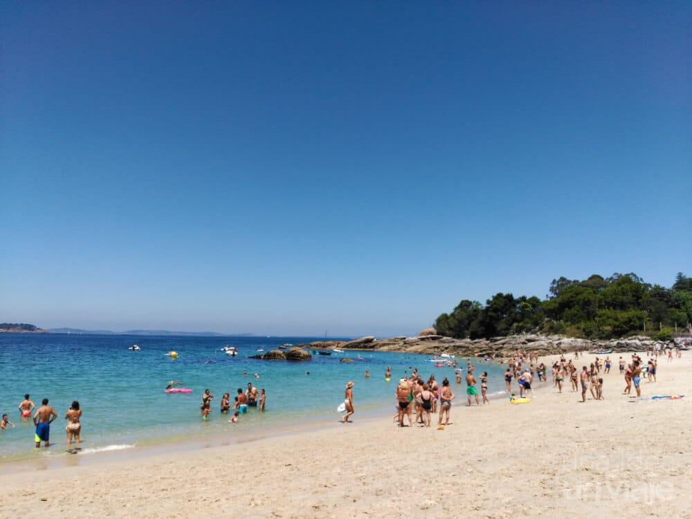 Playa Bahía de Aldán