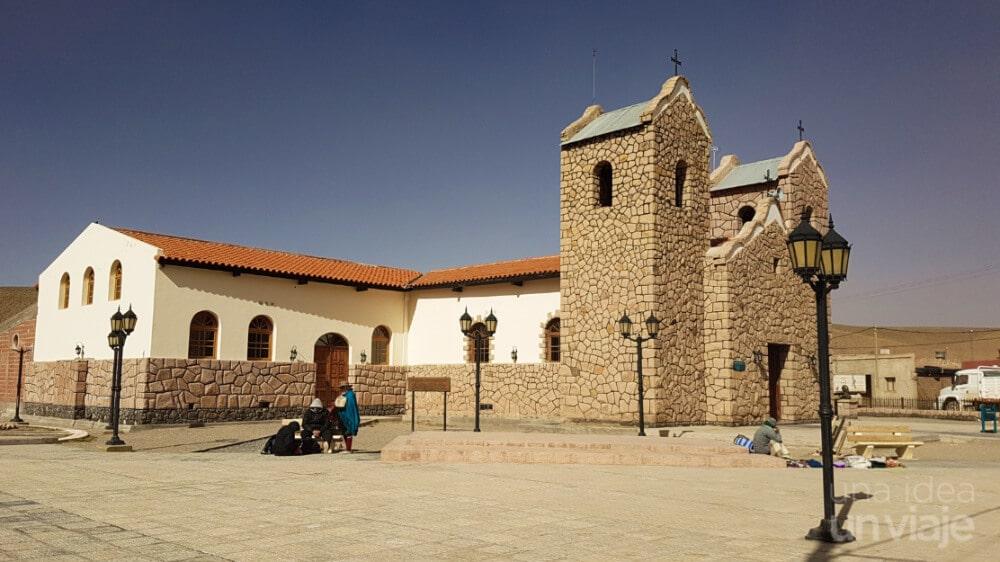 Iglesia en San Antonio de los cobres