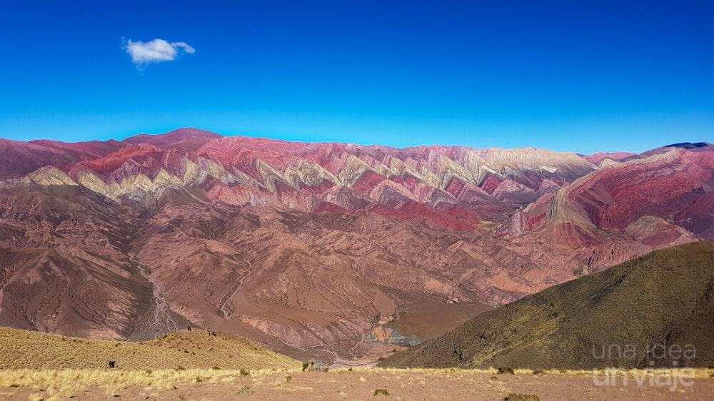 Cerro de los 14 colores (Hornacal) - Humahuaca