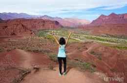 Qué visitar en Argentina - Mirador Tres Cruces - Quebrada de Las Conchas