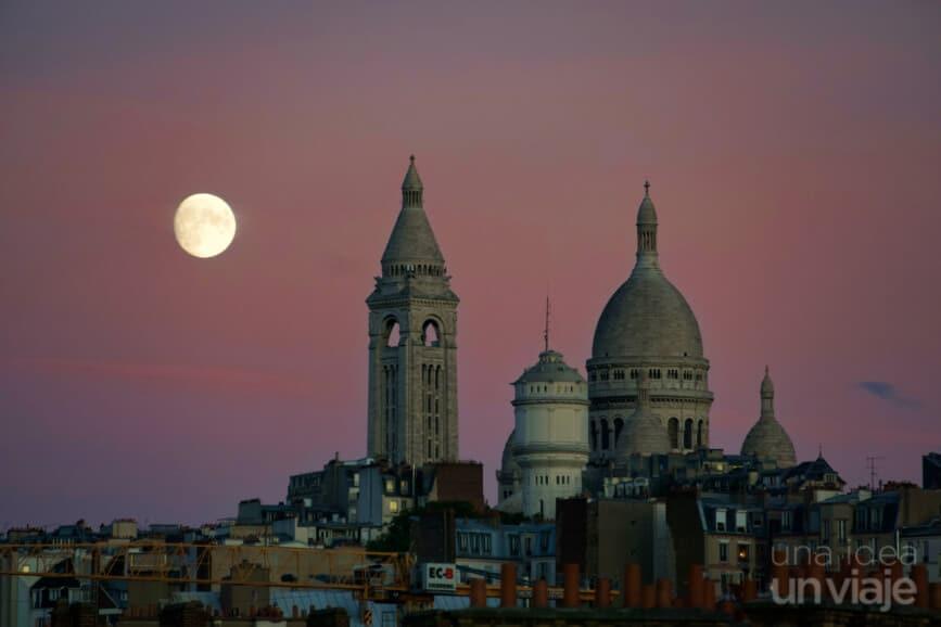Sacre Coeur, París