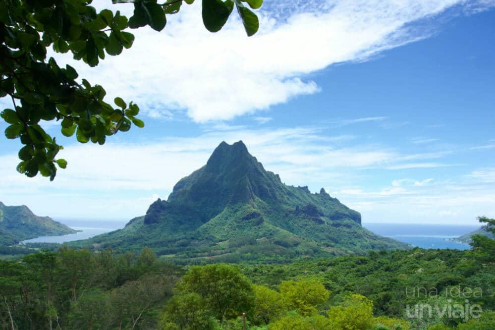 Qué ver en Moorea Polinesia Francesa, Monte Rotui