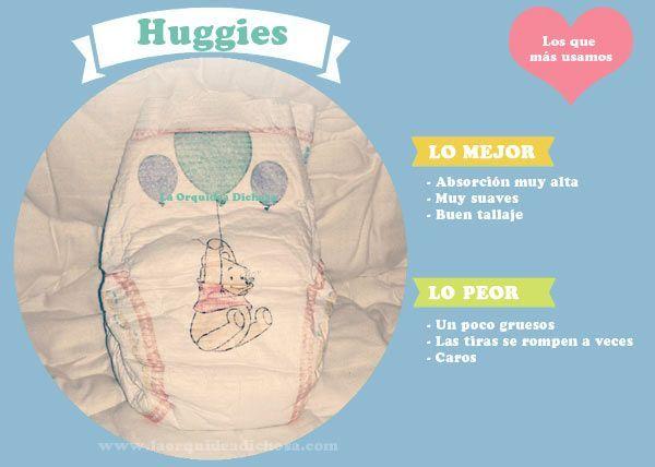 Comparativa mejores pañales: huggies