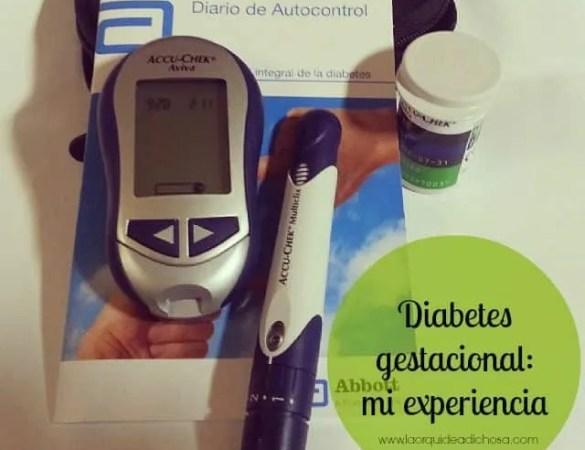 Diabetes gestacional: qué es, cómo manejarla