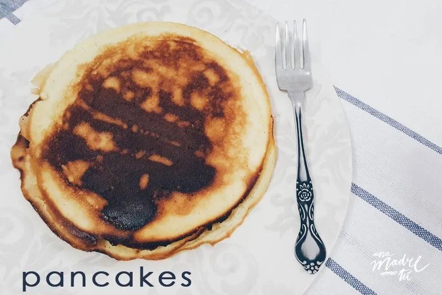 Receta de pancakes caseros y reflexiones #alrededordelamesa