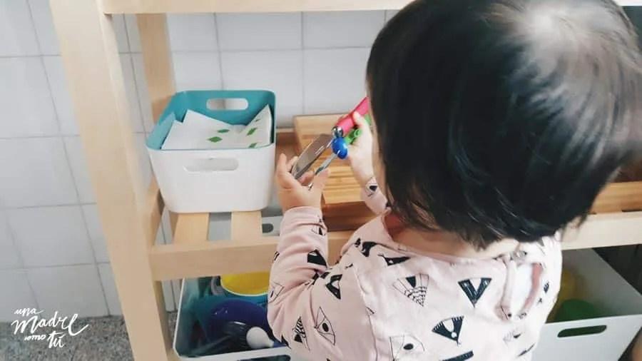 cocinas montessori en casa