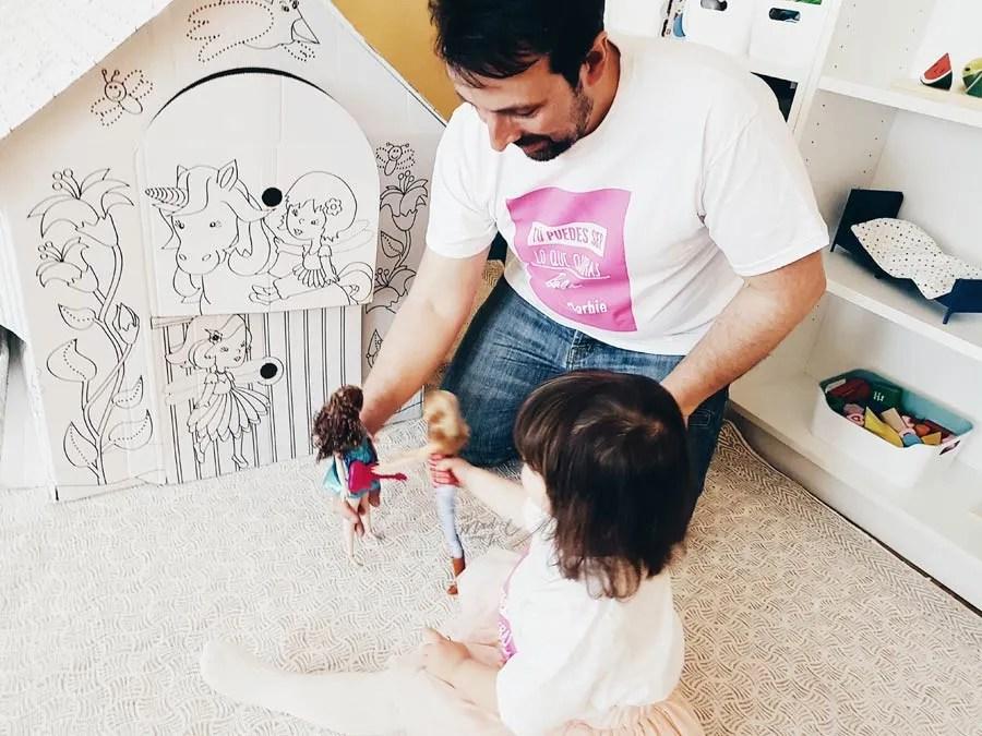 Padres que juegan a muñecas {SORTEO CERRADO}
