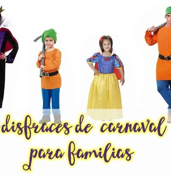 Disfraces en familia para triunfar este carnaval