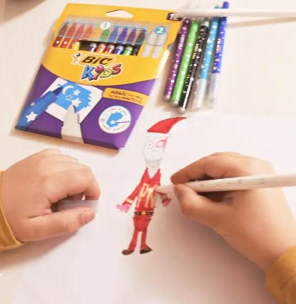 Nuevos Bic Kids Magic Felt Pens {sorteo finalizado}