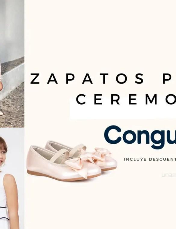 Zapatos para Comunión de Conguitos. ¡No se los querrán quitar!