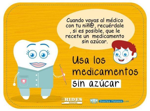 medicamentos y caries
