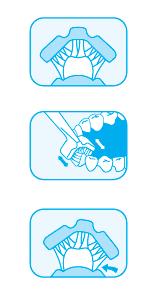 cepillo de triple cabezal