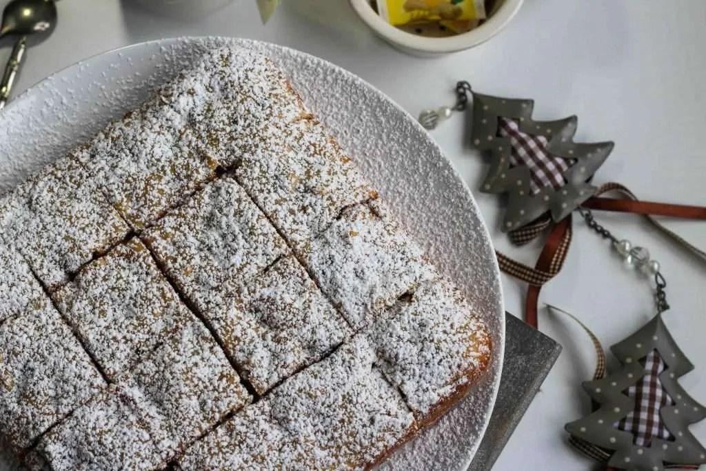la ricetta dei quadrotti al cioccolato e noci