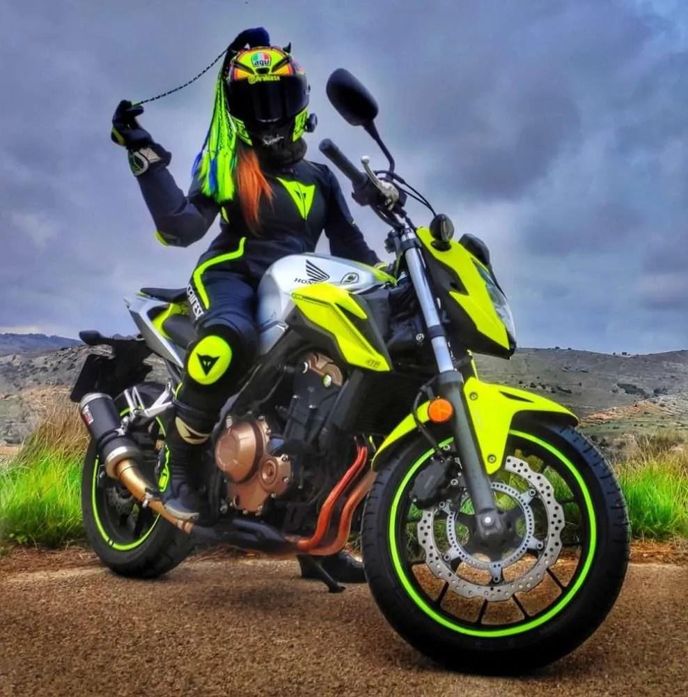 Mi primera moto, Honda CB500F: Amor a primera vista