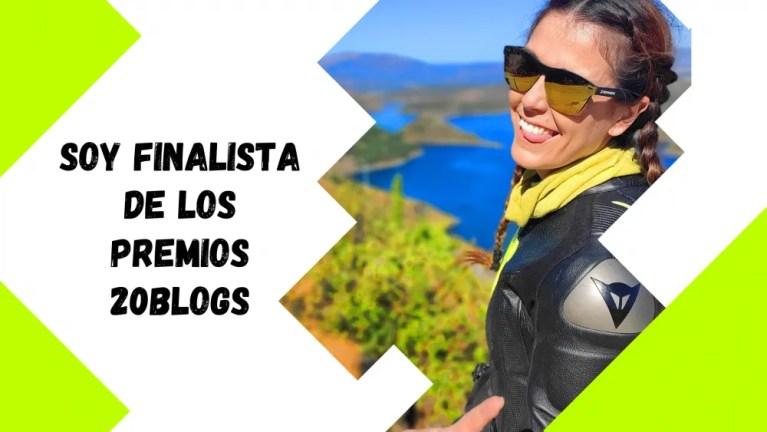 Estoy muy feliz, soy finalista para los Premios 20Blogs