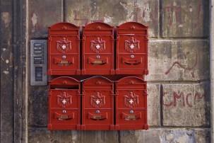 Buzón cartas, cartas a mano, correo, cartas a la antigua