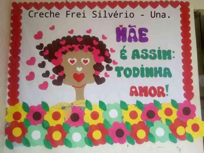 Dia das Mães na Creche Frei Silvério