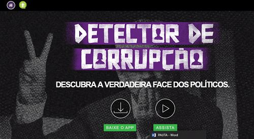 detector de corrupção