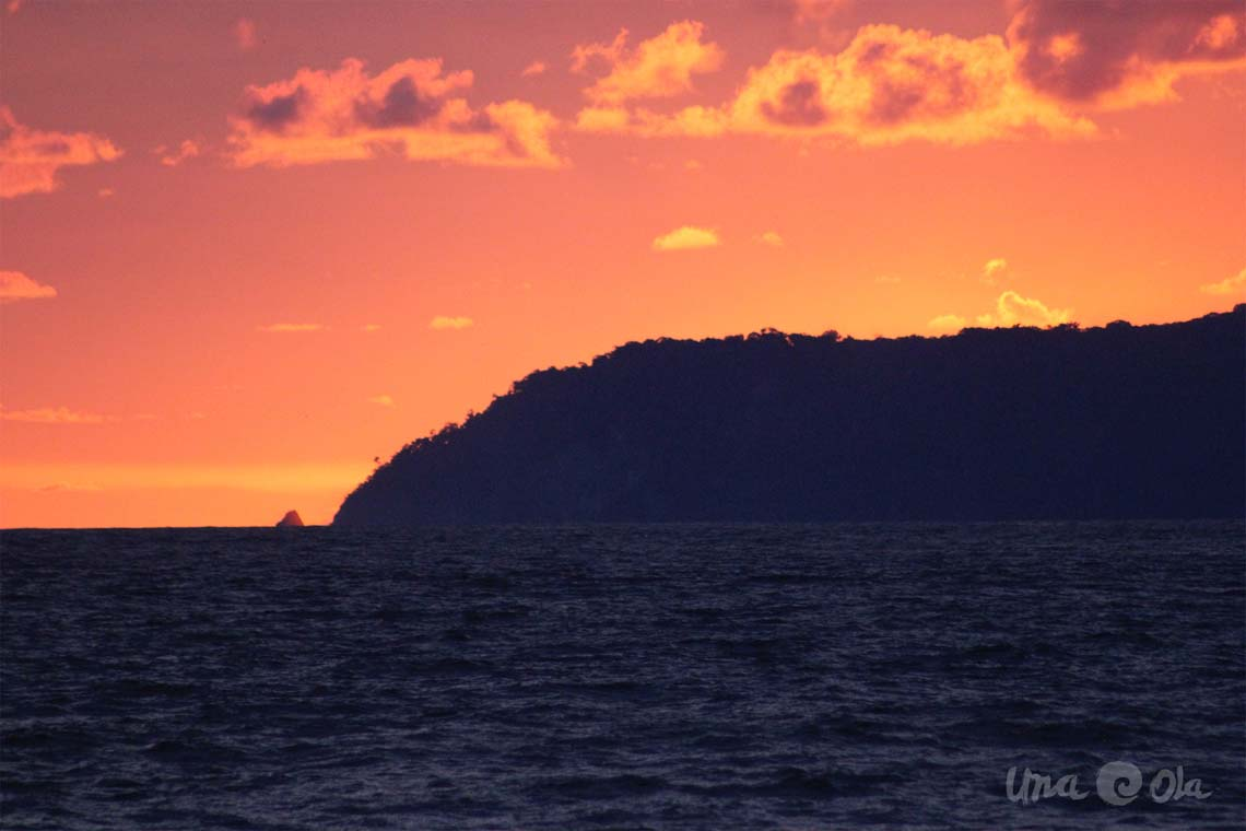 Cabo Matapalo Sunset