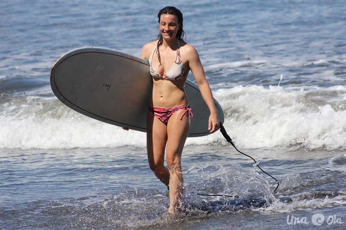 Happy Surfer Girl