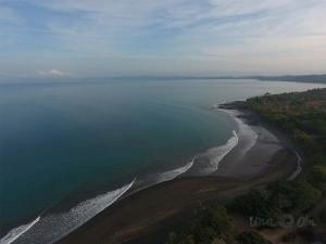Aerial view of Bahia Pavon