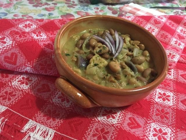 Zuppa Tonno fagioli e Cipolla