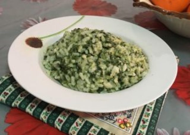 Risotto agli Spinaci Light
