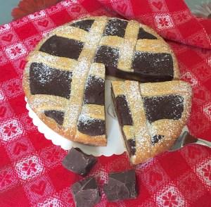 Crostata al Cioccolato Fondente 2