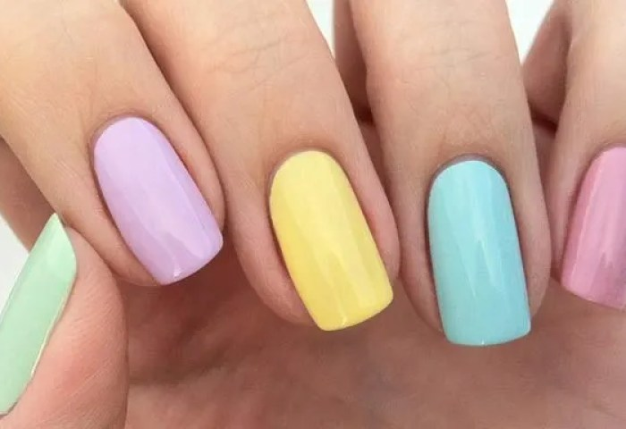 Uñas Decoradas Colores Pasteles Uñasdecoradas Club