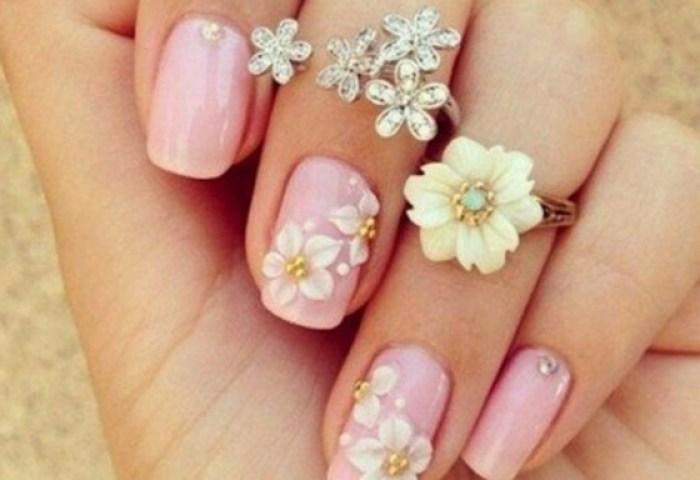 Uñas Decoradas Primavera Coloridas Y Con Flore Uñasdecoradas Club