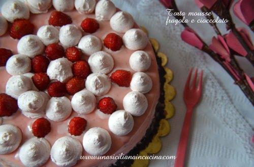 torta-mousse-fragola-e-cioccolato