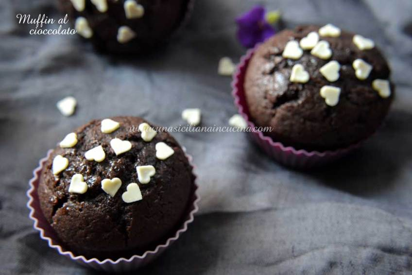 Muffin-al-cioccolato