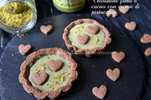 crostatine-farro-e-cacao-con-crema-di-pistacchio