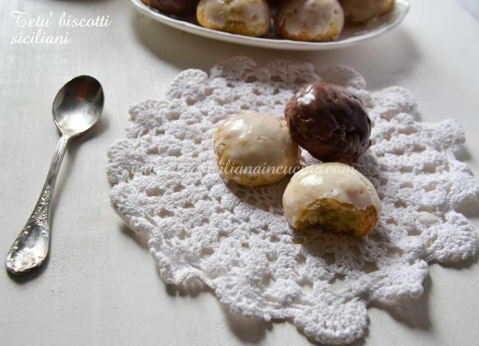 tetù biscotti siciliani