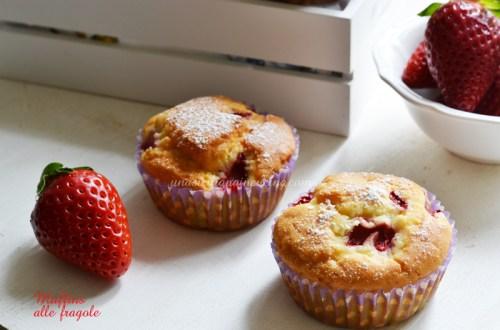Muffins alle fragole con stevia