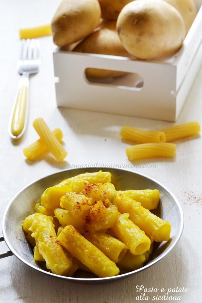 Pasta e patate alla siciliana