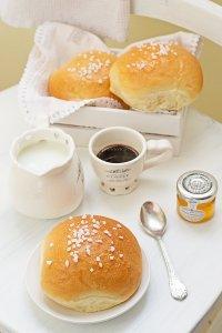 Brioches soffici per la colazione