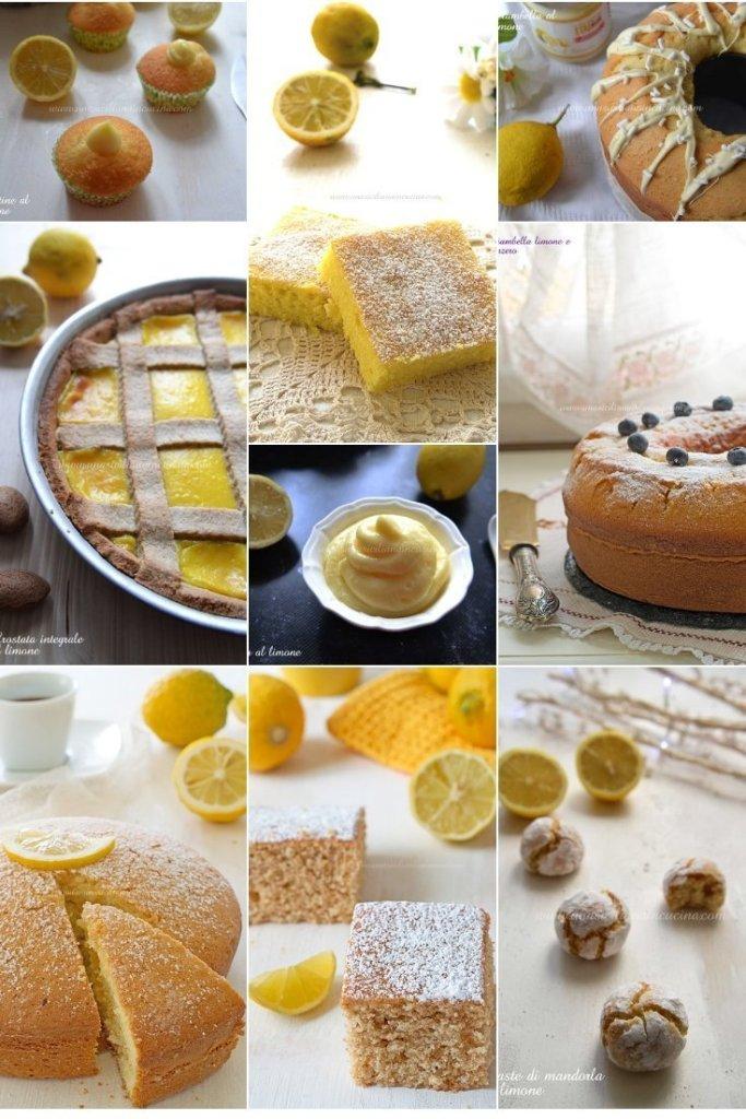 Raccolta dolci al limone